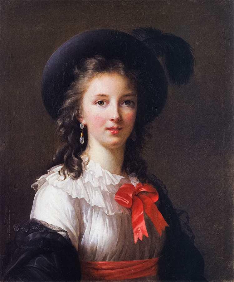 Elisabeth Vigée-Lebrun, Selbstporträt