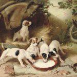 Walter Hunt | Puppies Breakfast, 1885