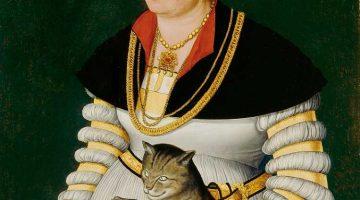 Hans Asper | Porträt der Cleophea Holzhalb, 1538 | Kunsthaus Zürich