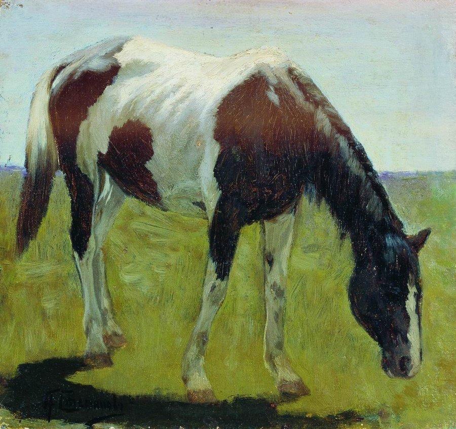Alexei Stepanov | A Horse | Nizhny Novgorod State Art Museum