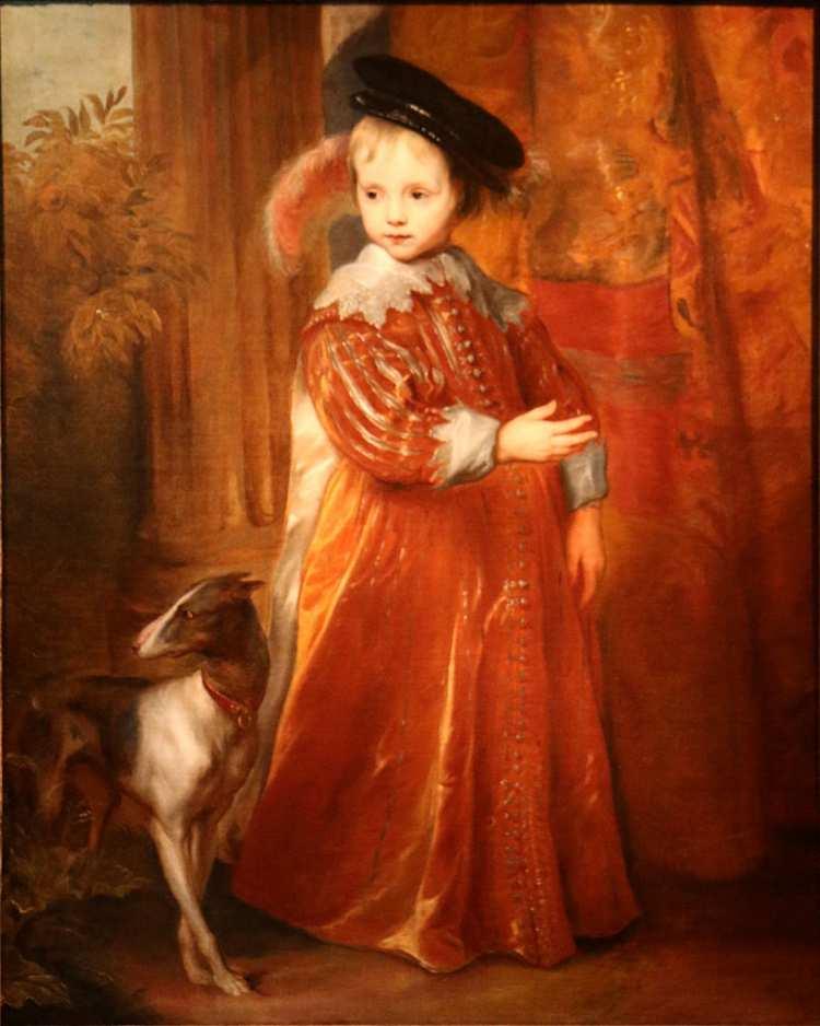 Anthony van Dyck   William II, Prince of Orange, 1632   Antwerpen, Rubenshuis