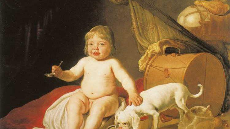 Bartholomeus van der Helst | Boy with a Spoon, 1643