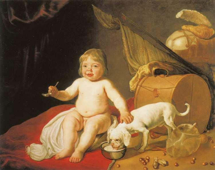 Bartholomeus van der Helst   Boy with a Spoon, 1643
