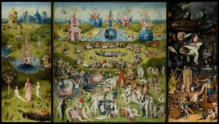 Hieronymus Bosch | The Garden of Earthly Delight, 1500-1505 | Triptychon, 220 x 389 cm | Museo del Prado, Madrid
