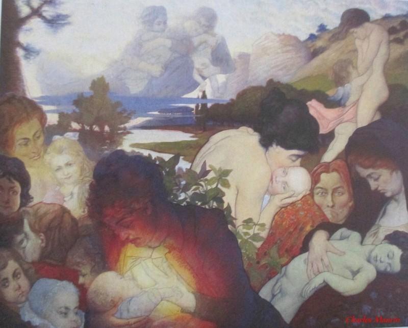 Charles Maurin | Maternité, 1893