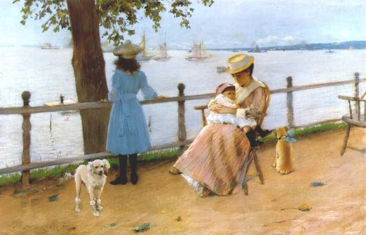 William Merritt Chase   Gravesend Bay, um 1888