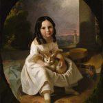 John F. Francis | Mary Elizabeth Francis, die Tochter des Künstlers, ca. 1840 | Smithsonian American Art Museum