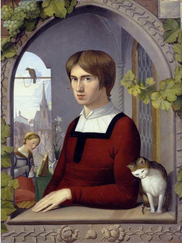 Friedrich Overbeck | Der Maler Franz Pforr, Ident. Nr. A II 381
