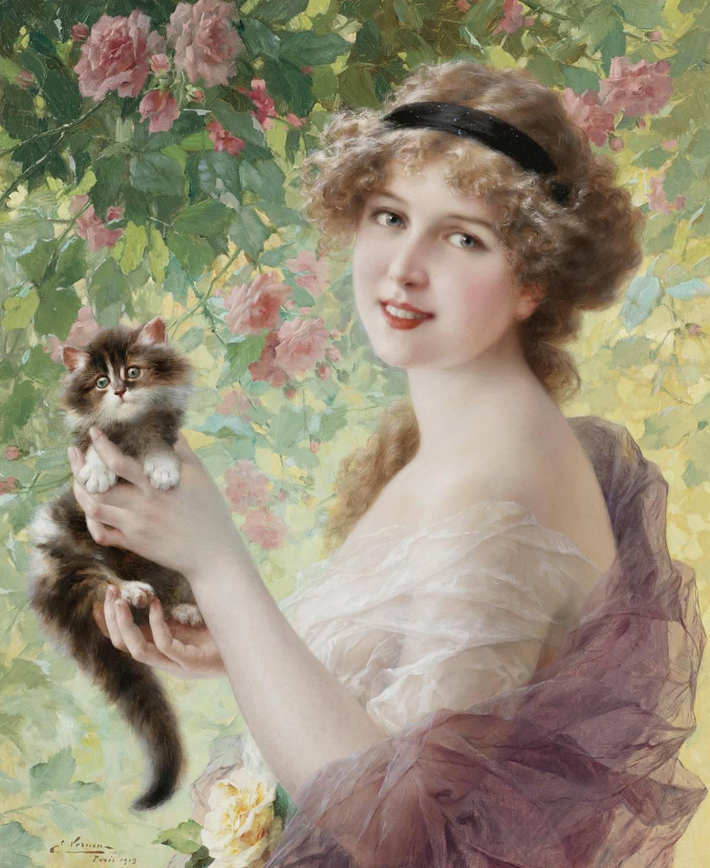 Paul Émile Vernon | Her most precious, 1919