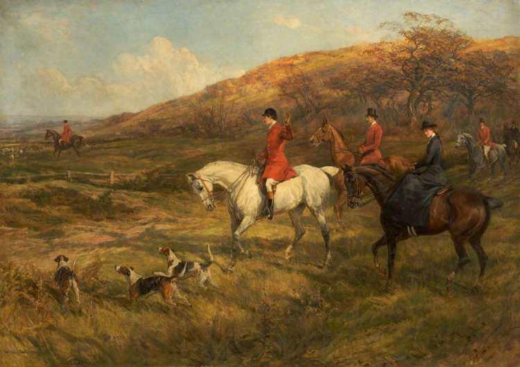 Heywood Hardy | Hunting Scene, 1899