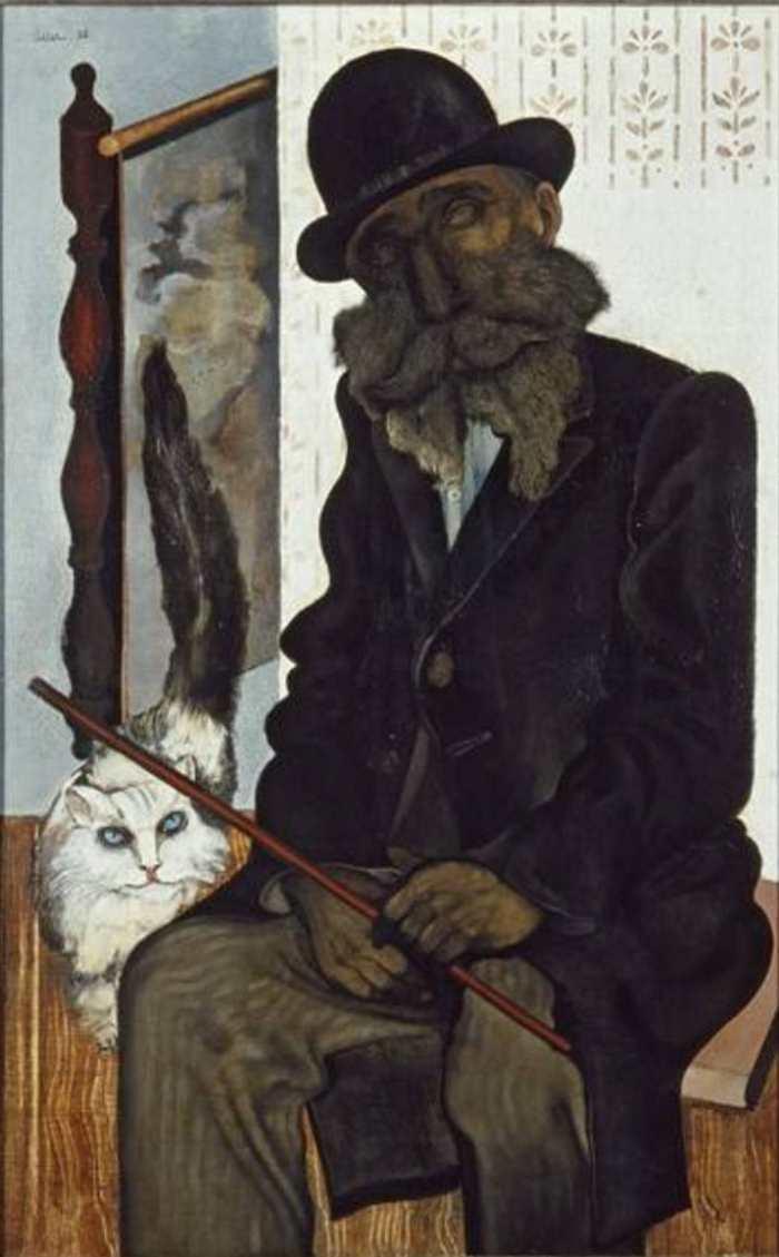 Jankel Adler, Herr Cléron der Katzenzüchter