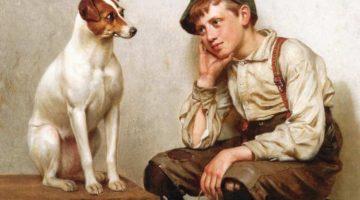 John George Brown | Mutural Admiration, 1898 (Detail)