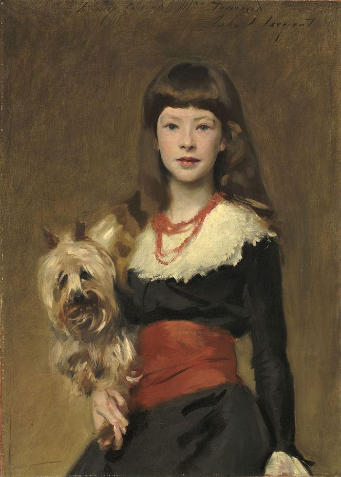 John Singer Sargent | Miss Beatrice Townsend, 1882 | National Gallery of Art, Washington