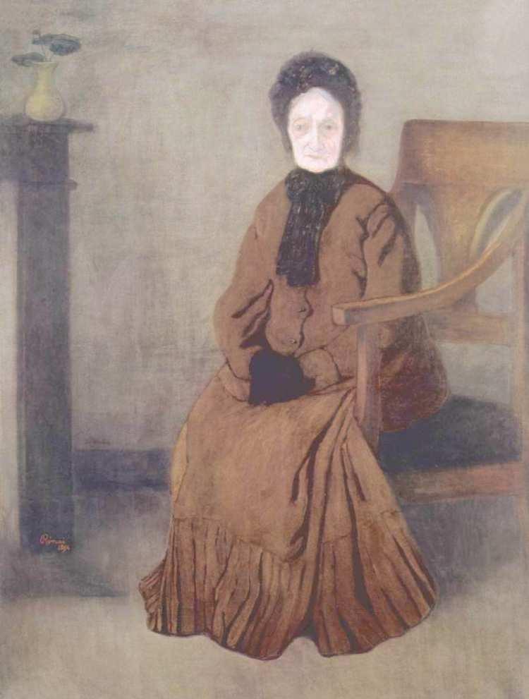 József Rippl-Rónai | Meine Großmutter, 1894 | Magyar Nemzeti Galéria