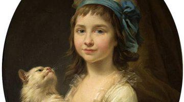Marcello Bacciarelli | Porträt Julia Duhamel, 1781 | Nationalmuseum, Posen