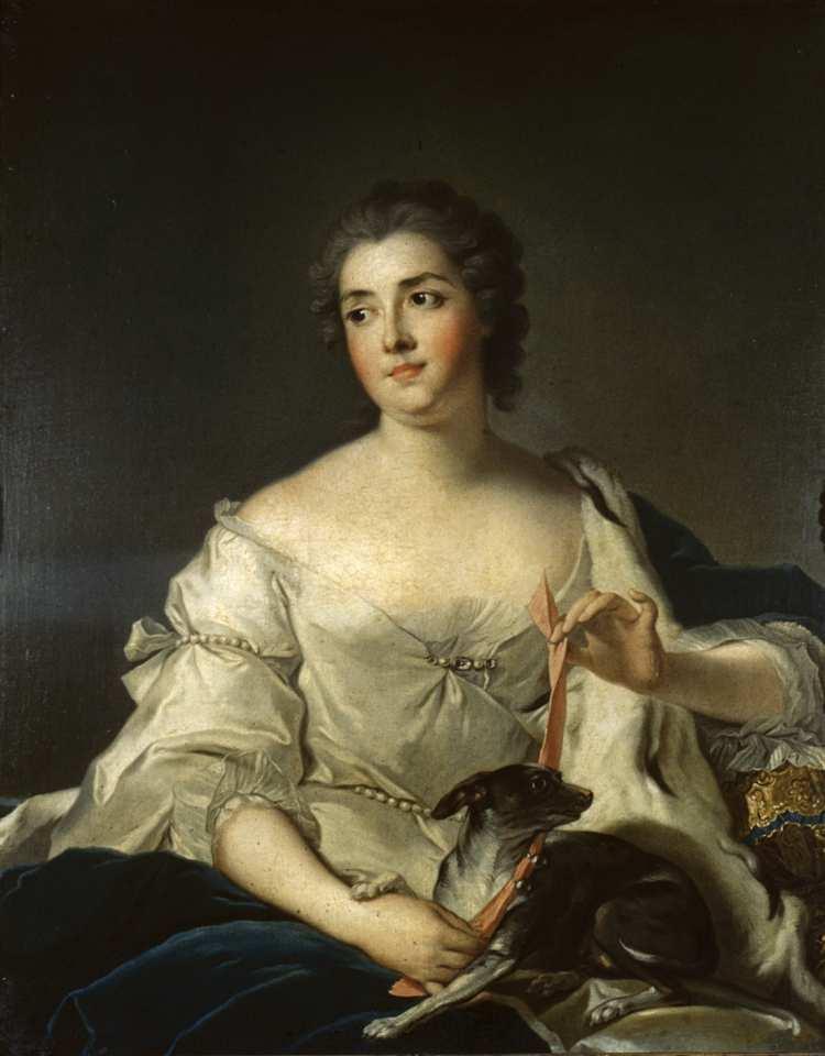 Jean-Marc Nattier | Portrait of Marquise D'Argenson | Walters Art Museum, Baltimore