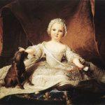 Jean-Marc Nattier | Portrait of Madame Maria Zeffirina | Galleria degli Uffizi
