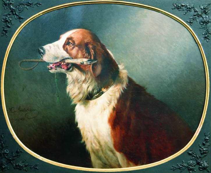Nikolai Jegorowitsch Swertschkow | A Dog, 1881