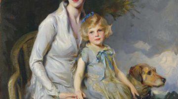 Philip Alexius de László | Mrs. Paul Bridgeman and her Daughter, Jeannine, 1931