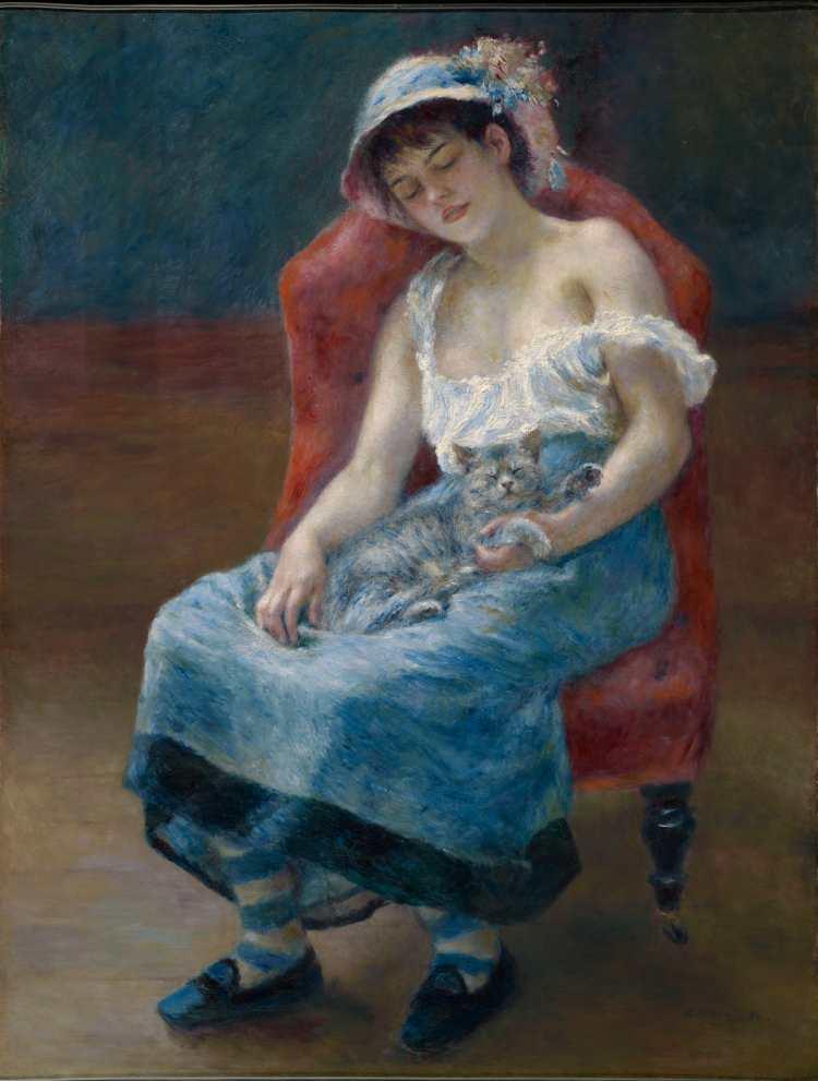 Pierre-Auguste Renoir | Sleeping Girl, 1880 | Bild mit freundlicher Genehmigung des Clark Art Institute. clarkart.edu