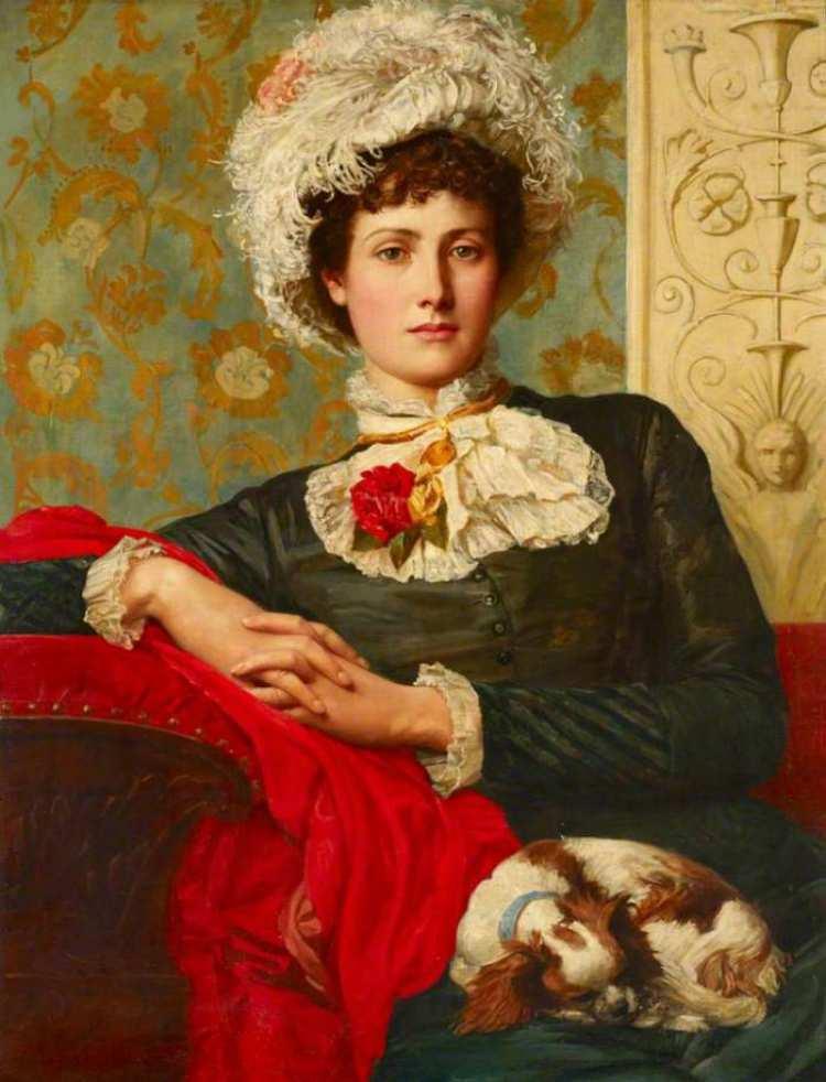 Valentine Cameron Prinsep | Unprofessional Beauty, 1885