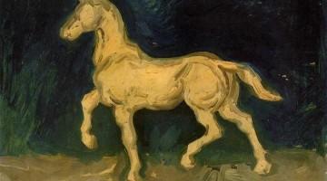 Vincent van Gogh | Plaster Statuette of a Horse, 1885 | Van Gogh Museum, Amsterdam