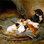 William Henry Hamilton Trood | Nap Time, 1888 | Privatbesitz