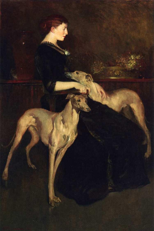 John White Alexander | Anna Palmer Draper, 1888 |Privatsammlung