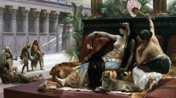 Alexandre Cabanel | Cleopatra Testing Poisons on Condemned Prisoners, 1887 | Königliches Museum der Schönen Künste, Antwerpen