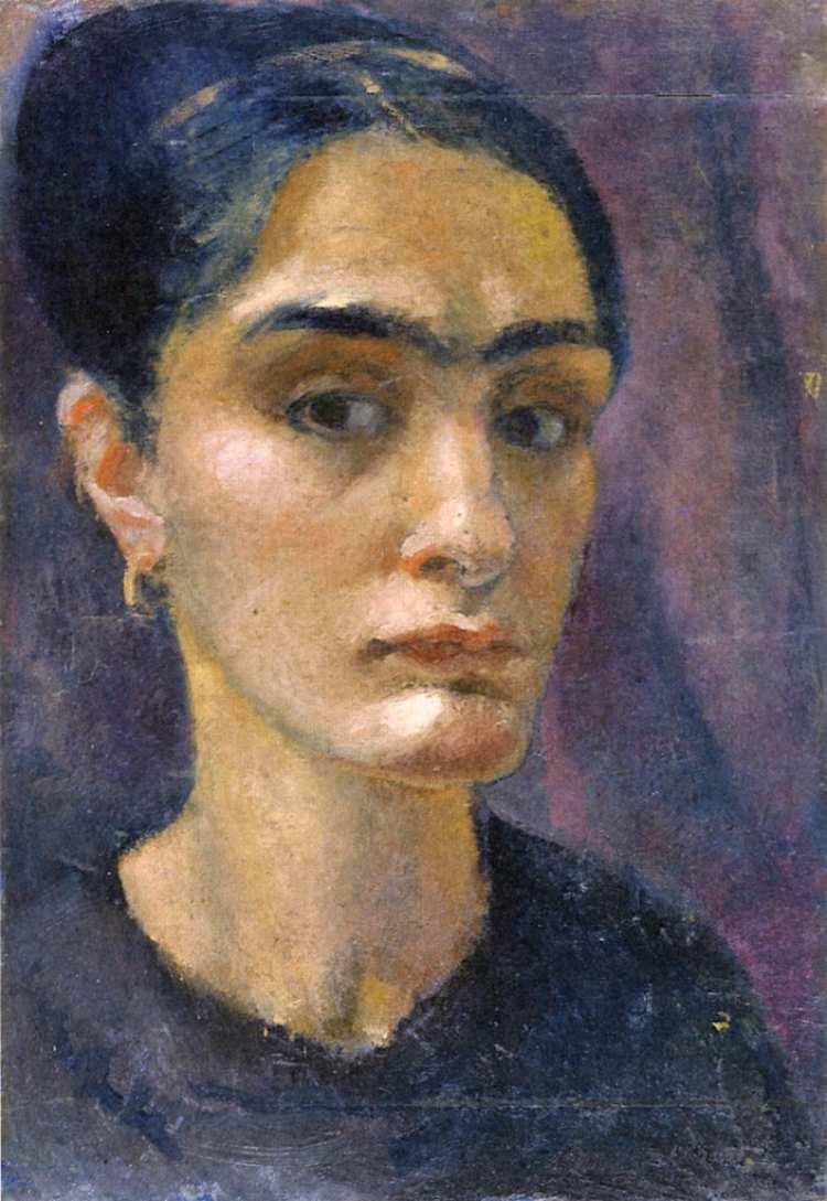 Anita Rée | Selbstporträt, 1911 | Hamburger Bahnhof Museum für Gegenwart - Staatliche Museen zu Berlin
