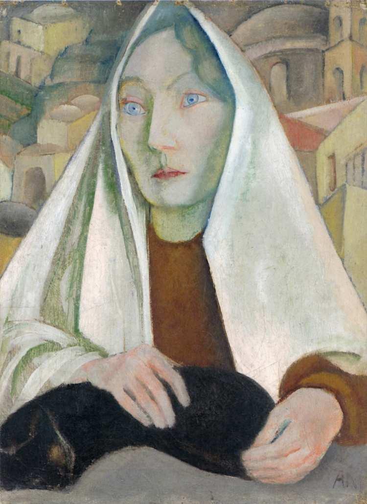 Anita Rée | Frau mit Katze, 1922-1925