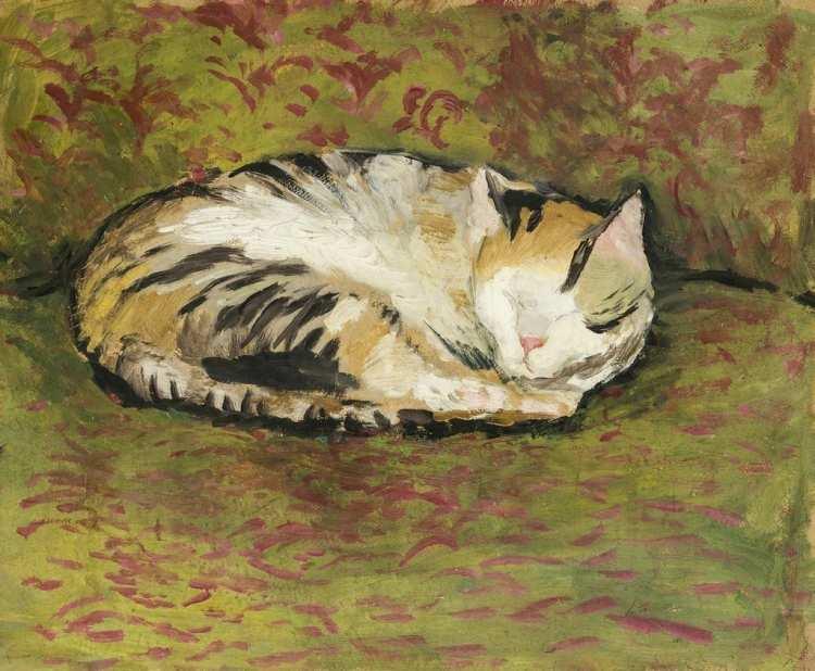 August Macke   Katze, 1921
