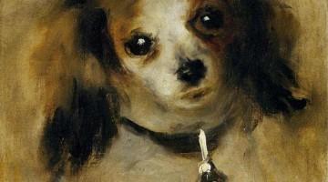 Pierre-Auguste Renoir | Head of a Dog, 1870 | National Gallery of Art, Washington
