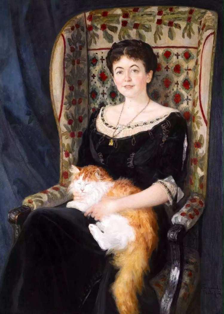 Nikolai Bogdanov-Belsky | Portrait of a Lady, undatiert