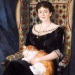 Nikolai Bogdanov-Belsky | Portrait of a Lady (Detail)