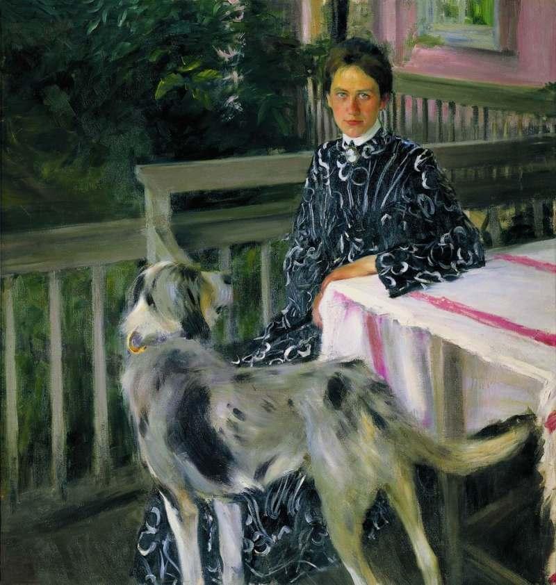 Boris Kustodiev | Yulia, die Frau des Künstlers, 1903