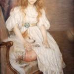 Marie Louise Catherine Breslau | Portrait der Mademoiselle Adeline Pozanska als Kind, 1891 | Musée d'Orsay, Paris