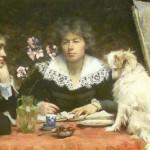 Marie Louise Catherine Breslau | Freunde, 1891