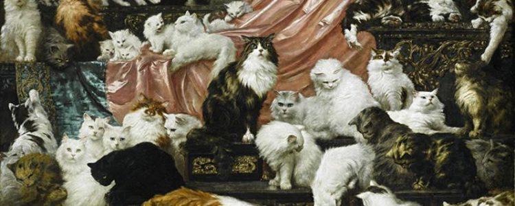 Carl Kahler, My Wife's Lovers, 1891   177,8 x 258,4 cm