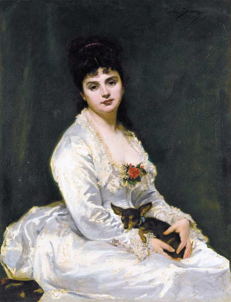 Carolus-Duran | Portrait of Madame Henry Fouquier, 1876