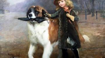 Charles Burton Barber | Off to School, 1893