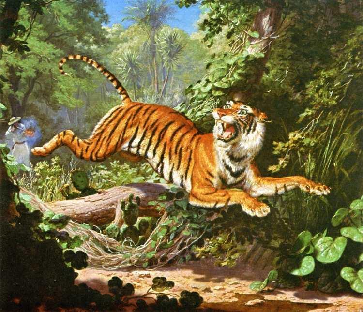 Charles Christian Nahl | Bengal Tiger