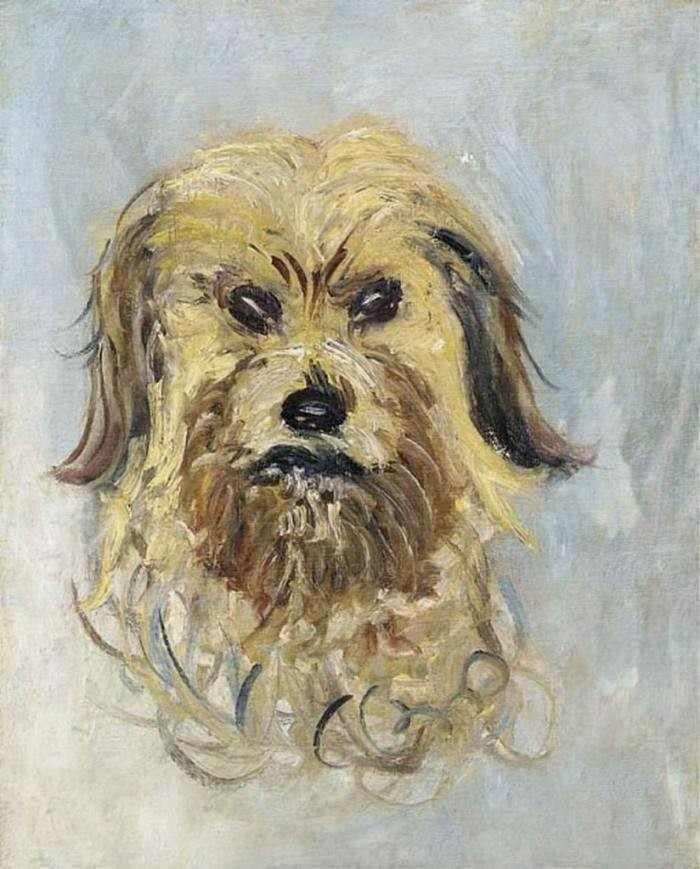 Claude Monet | Head of the Dog, 1882