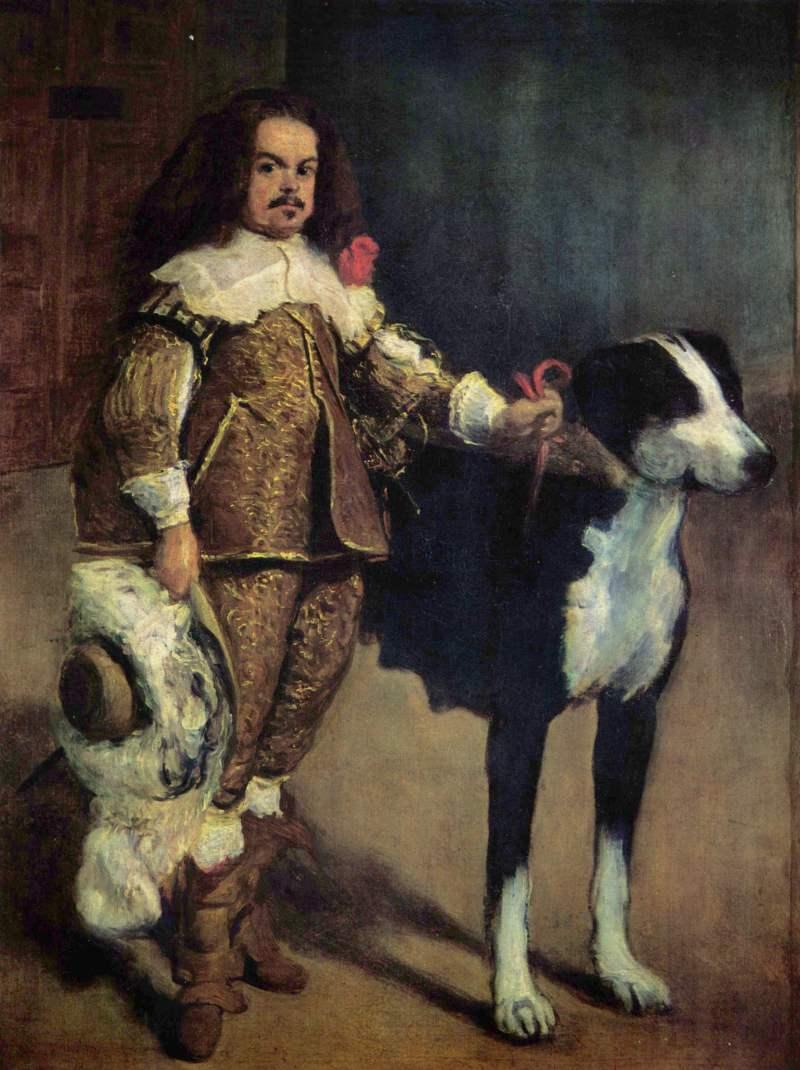 Diego Velázquez | Hofzwerg mit Hund