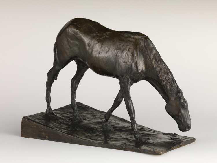 Edgar Degas | Pferd am Trog