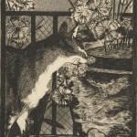 Édouard Manet | Le Chat es les Fleurs, 1869