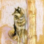 Édouard Vuillard | Wolfhound at Gererdmer |Privatsammlung