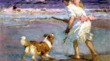 Edward Henry Potthast | Retrieving, 1910/12 | Privatbesitz