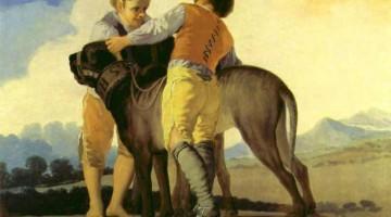 Francisco de Goya | Knaben mit Bluthunden, 1786-87 | Museo del Prado, Madrid