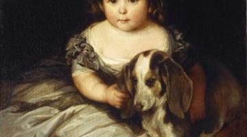 Franz Xaver Winterhalter   Prinzessin Alice, 1845   Privatbesitz